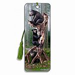 Black Bears - 3D Bookmark