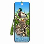 Mallards - 3D Bookmark