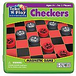 Checkers Game Tin
