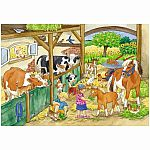 A Day at the Farm Puzzle - Ravensburger