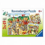 The Knights' Fortress Puzzle - Ravensburger