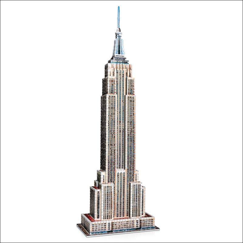 Empire State Building 975 Pieces Toy Sense