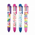 Unique Unicorn 6 Click Multi-Color Pen