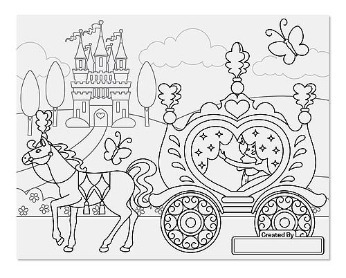 Princess Fairy Colouring Pad Toy Sense