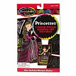Princesses Scratch Art