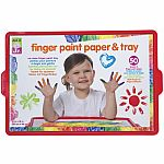 Fingerpaint Paper and Tray