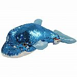 "18"" Sequin Dolphin - Blue"