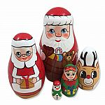 Nesting Doll Santa's Workshop
