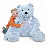 Blue Jumbo Teddy Bear