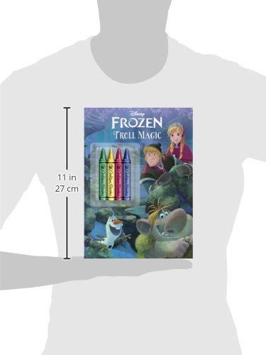Frozen Troll Magic Colouring Book