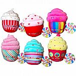 Candy Cuddles Scented Cupcake Pillows