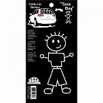 Family Car Decals - Boy