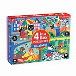 4 in a Box Puzzle Set