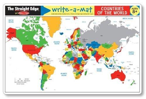 Write A Mat Countries Toy Sense