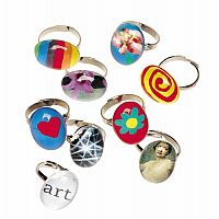 10 Pop-Art Rings