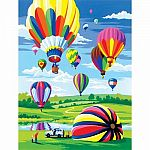PBN Hot Air Balloons
