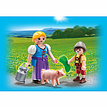 Country Woman and Boy Duo Pack - RETIRED PRODUCT