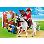 Flamenco Horse with Stall - RETIRED PRODUCT