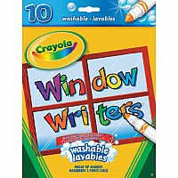 10 Window Writers Washable