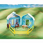 Breyer Pocket Barn Playset