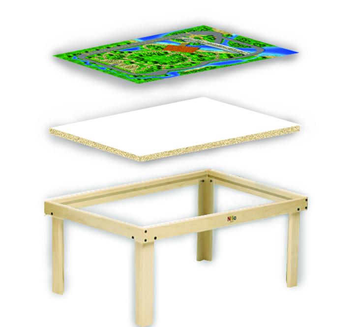Nilo Multi Activity Table Toy Sense