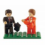 2 Piece Teacher & Student Figure Set - Brictek