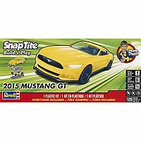 1/25 2015 Mustang GT Yellow - Model Kit
