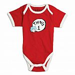Dr Seuss Thing Bodysuit - size 9m