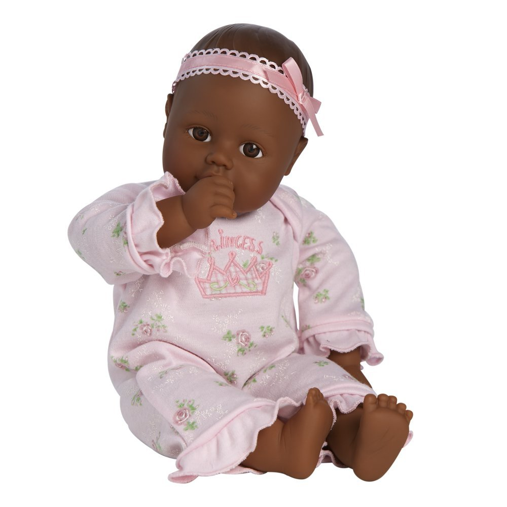Adora Playtime Baby Doll Dark Complexion Toy Sense