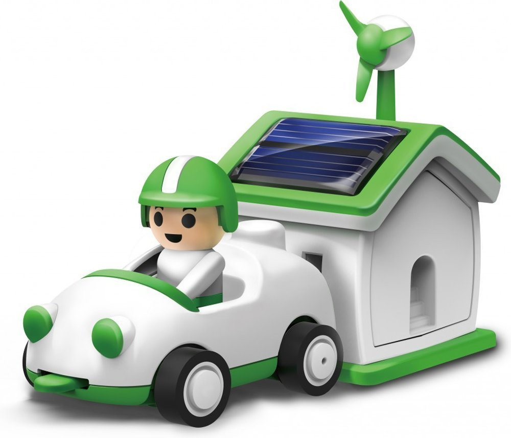 Solar Powered Electric Motor Kit: Solar Rechargeable Kit