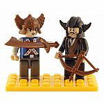 2 Piece Viking Figure Set - Brictek
