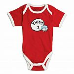 Dr Seuss Thing Bodysuit - size 6m