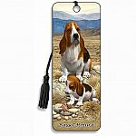 Basset Hound - 3D Bookmark