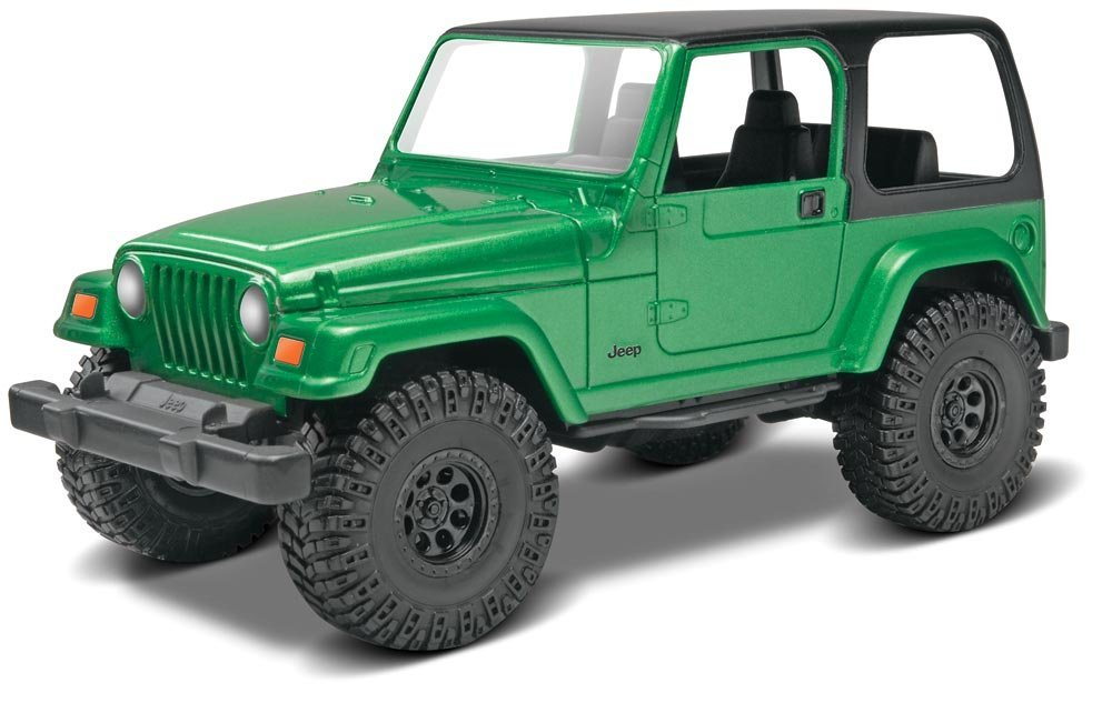 Jeep Wrangler Rubicon Model Kit Toy Sense