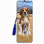 Beagle - 3D Bookmark
