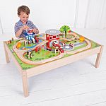 Fire Station Train Set and Table