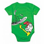 Dr Seuss Green Eggs Bodysuit - size 3m