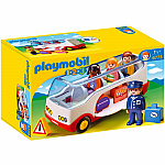 Playmobil 123 Airport Shuttle Bus