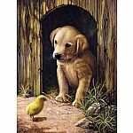 Labrador Puppy - Paint by Number