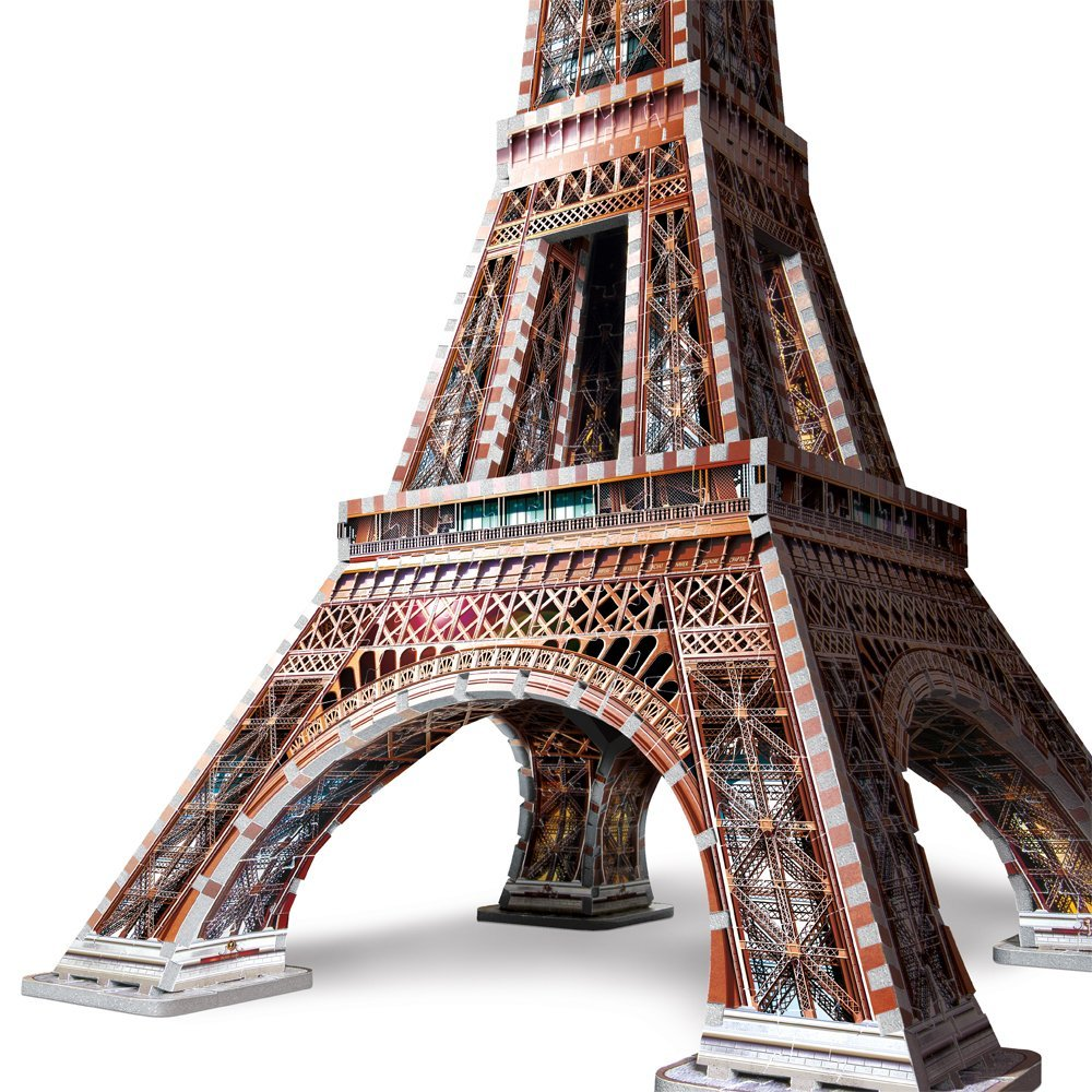 eiffel tower 3d puzzle toy sense. Black Bedroom Furniture Sets. Home Design Ideas