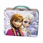 Disney Embossed Frozen Tin Lunch Box (Assorted)