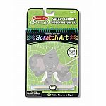 Safari Animals Hidden-Picture On The Go Scratch Art