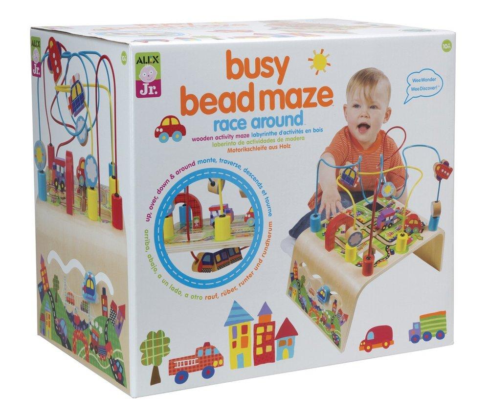 Busy Bead Maze Race Around Toy Sense Circuit Thinkfun
