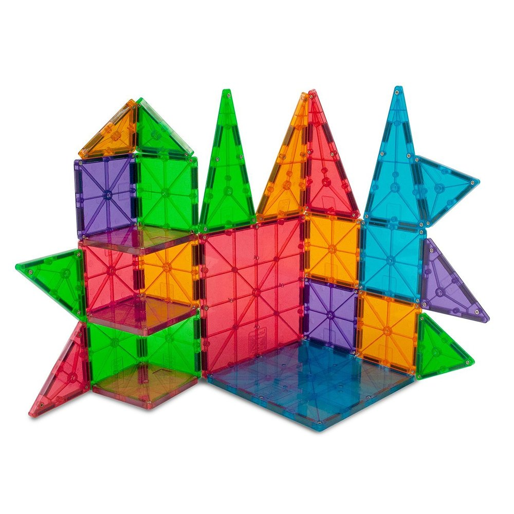 Magna Tiles Clear Colors 100 Piece Set Magna Tiles