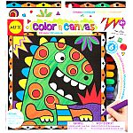 Color a Canvas- Dino