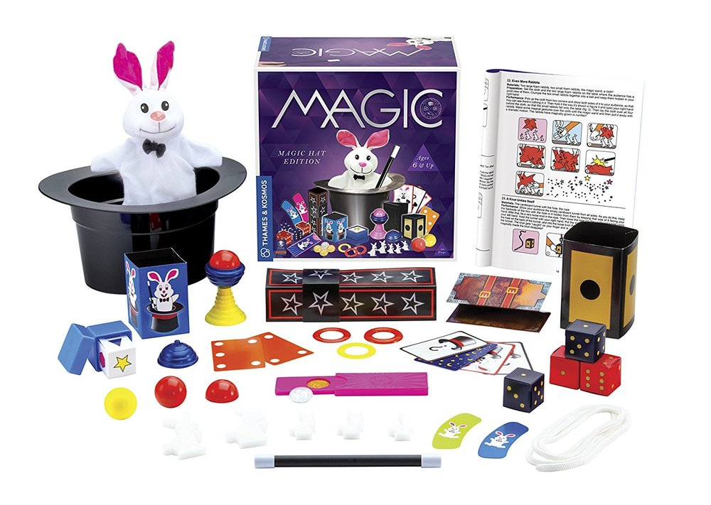 Magic Hat With 35 Tricks - Toy Sense