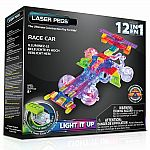 12-in-1 Race Car Building Set