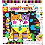 Color a Canvas - Kitty