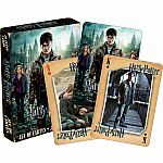 Harry Potter & the Deathly Hallows Part 2 -  Playing Cards