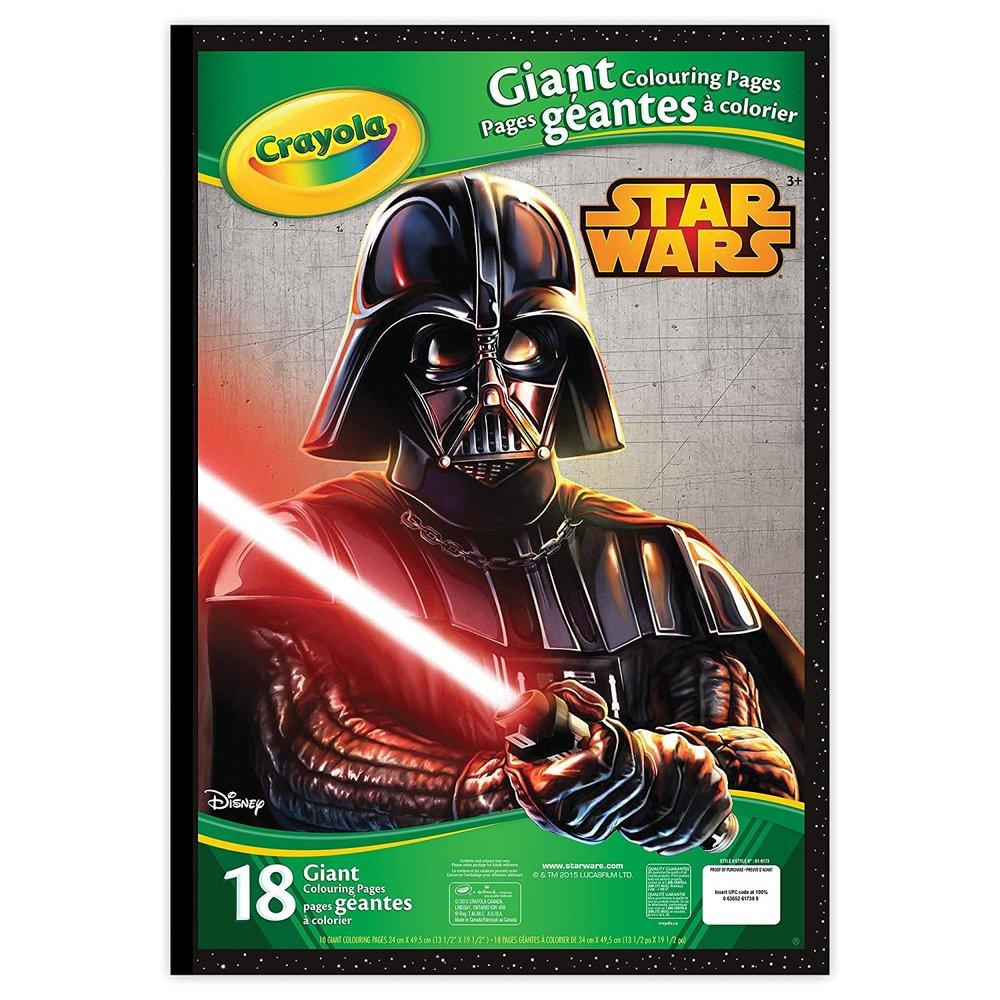 Crayola Giant Colouring Pages, Star Wars - Toy Sense